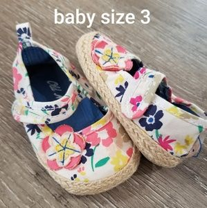 Baby girl size 3 shoes